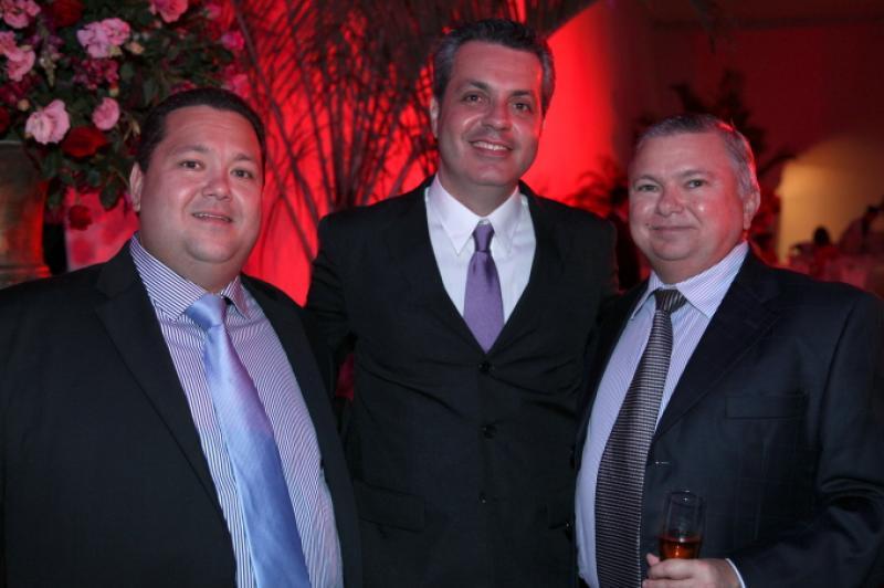 Ricardo Carneiro, Leonardo Dall Olio e Alexandre Adolfo