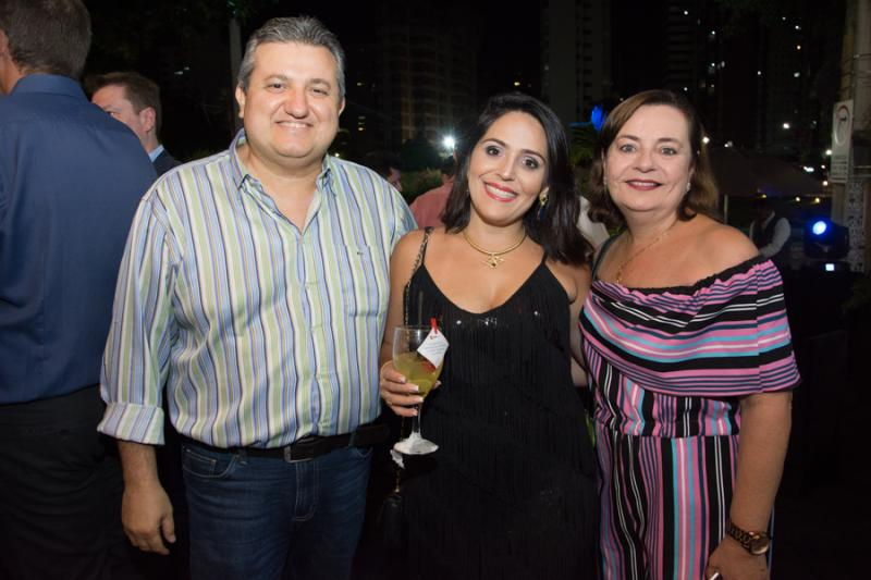 Humberto Feitosa, Cecilia Aguiar e Cinara Feitosa