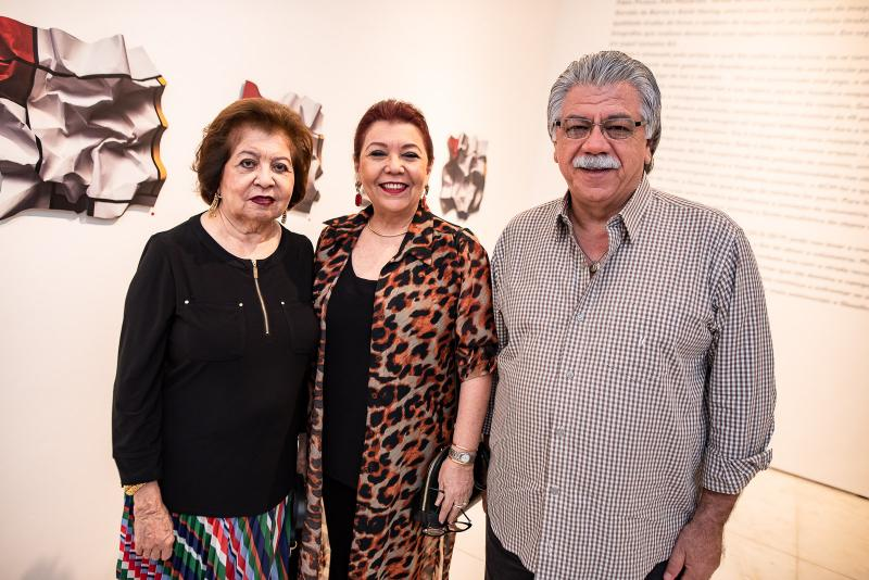 Edyar Rolim, Isabel e Euder Castro