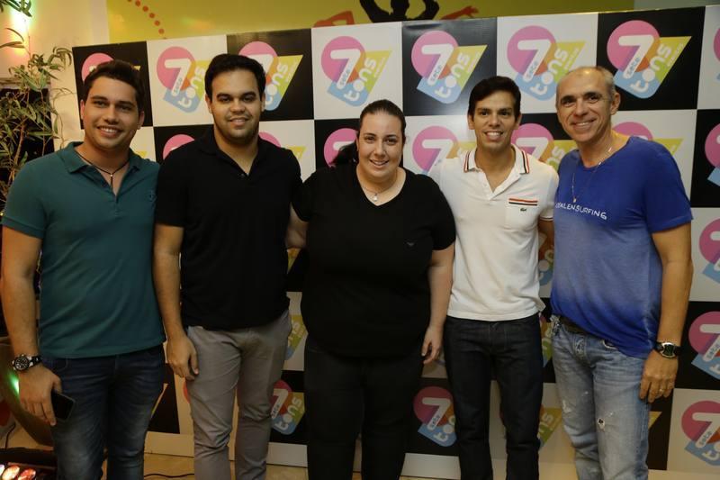 Olavo Egydio, Ivo Dias, Clara Franckj, Italo Girao e Douglas Santos