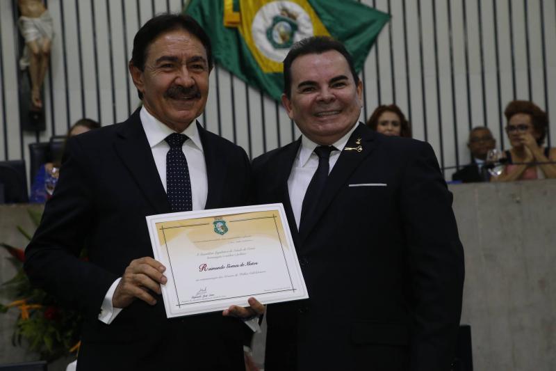 Raimundo Gomes de Matos e Walker Santiago
