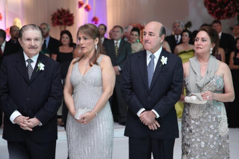 Mauro e Marisa Benevides, Silvio e Paula Frota