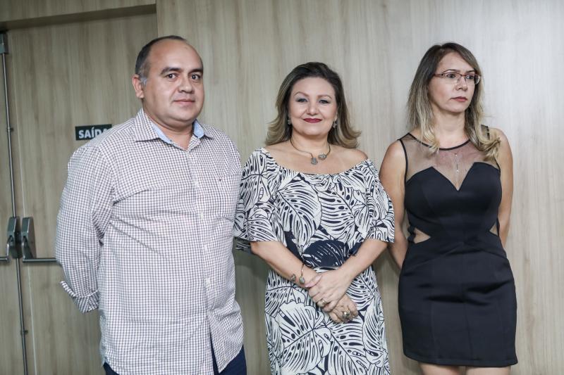 Marcelo Araujo, Estela Pavan e Adriana Mourao