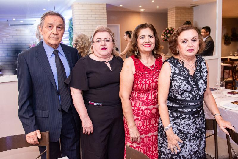 Paulo Portela, Socorro Leitao, Terezinha Sampaio e Nadja Pinheiro