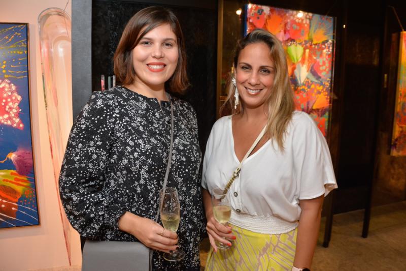 Camila Santana e Suzana Rocha