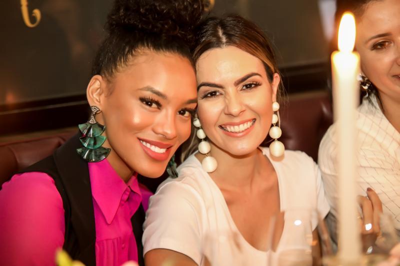 Raissa Santana e Constanza Fernandes