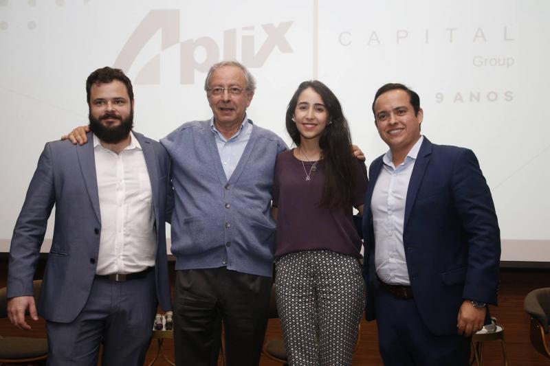 Felipe Romcy, Luiz Alves, Betina Roxo e Yuri Veras 1