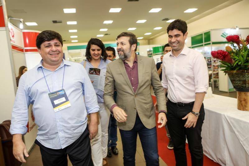 George Lima, Elcio Batista e Bruno Barreira