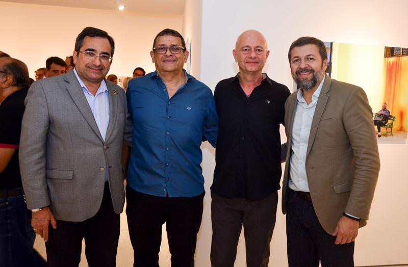 Jardson Cruz, Jose Guedes, Demetrio Jereissati e Elcio Batista