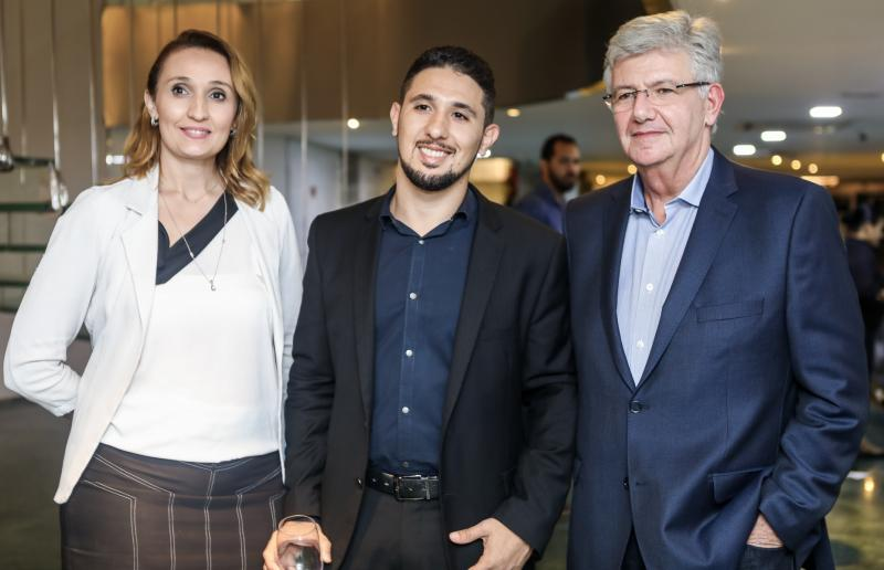 Myrella Abreu, Marcus Santos e Carlos Maia