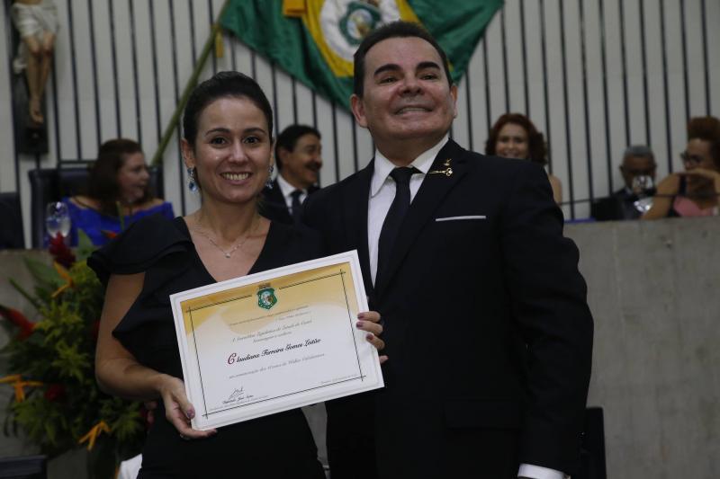 Claudiana Leitao e Walker Santiago