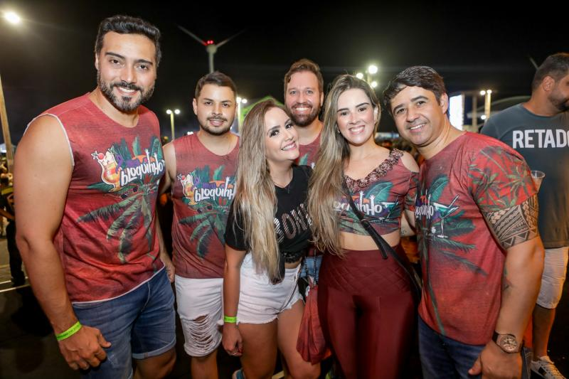 Jamis Solon, Suzana Bessa, Paulo Henrique, Gustavo Ramoa, Roberta Pinto e Jailson Oliveira