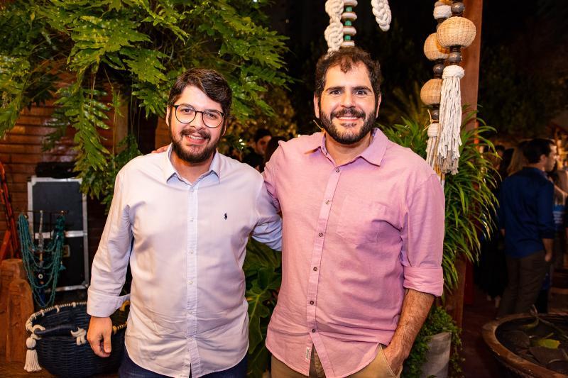 Ivan Prado e Eduardo Castelao