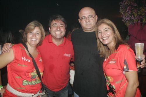 Valeria e Jose Walter Manarino, Fernando e Ester Moraes