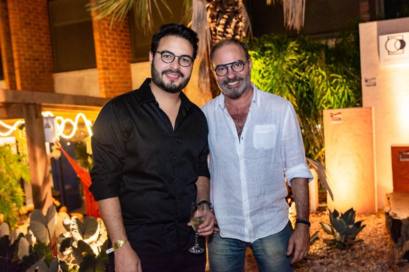 vinicius Machado e Marcus Novais
