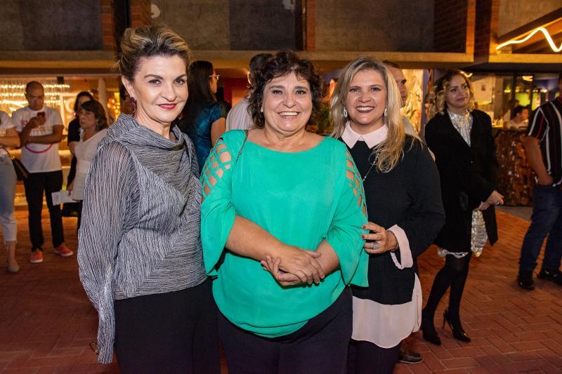 Katia Maggy, Socorro Trindade e Elana Pontes