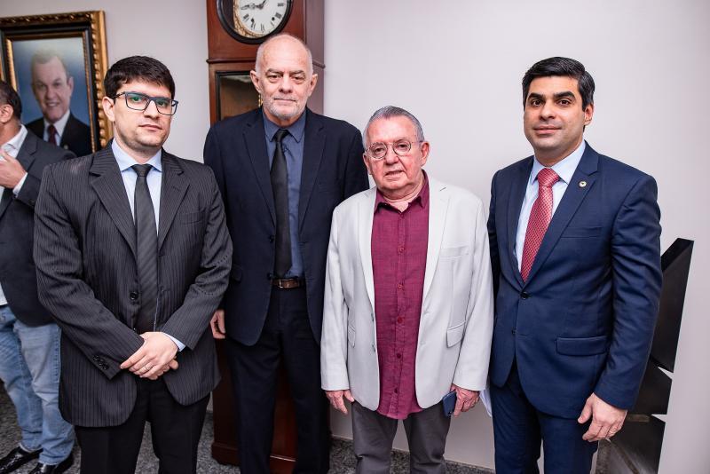 Alexandre Costa, Ricardo Mess, Henrique Campos e Queiroz Filho