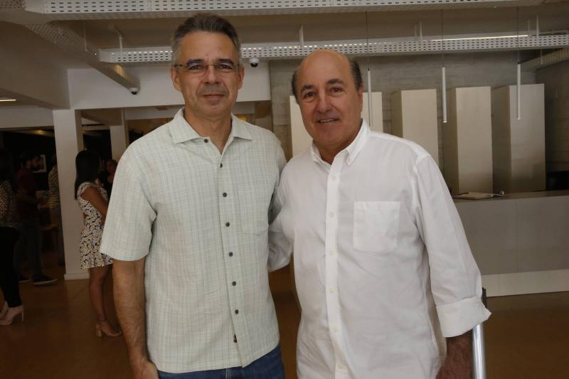 Heraclito Vieira e Silvio Frota