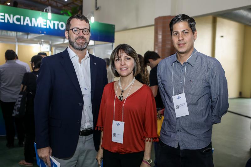 Jose Maria, Circe Jane e Daniel Furlani