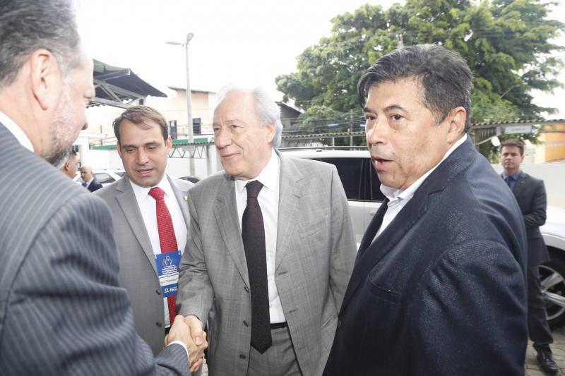 Acrisio Sena, Salmito Filho, Ricardo Lewandowiski e Carlos Alberto Mesquita