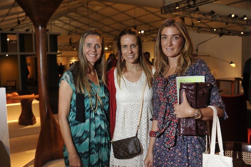 Maria Paula Brasil, Maria Claudia Brasil e Marina Linhares