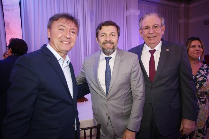Mauricio Filizola, Elcio Batista e Ricardo Cavalcante