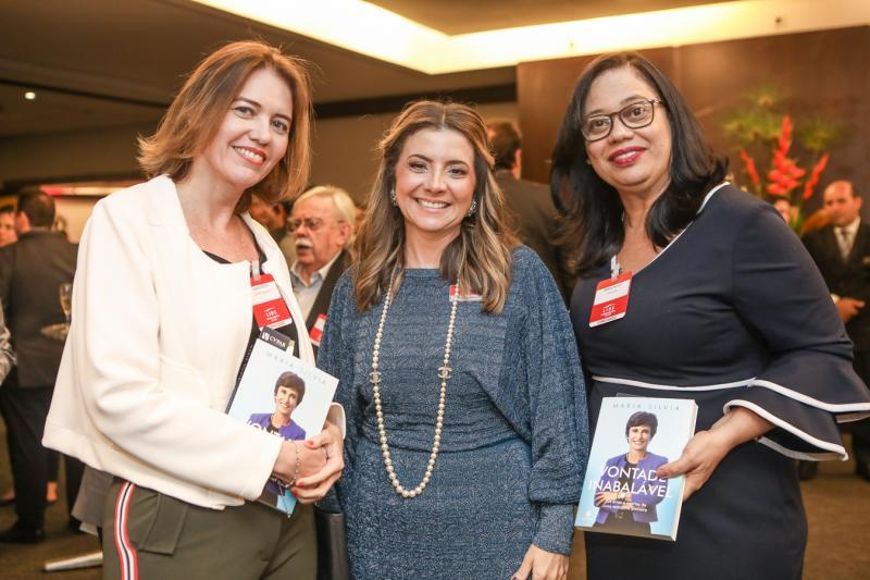 Isabel Martin, Emilia Buarque e Milene Pereira