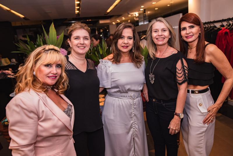 Sueli Gaspar, Ines Rangel, Martinha Assuncao, Malu Fontenele e Lorena Pouchain