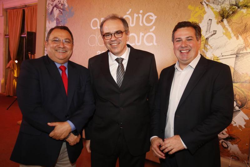 Moacir Maia, Democrito Dummar e Samuel Dias