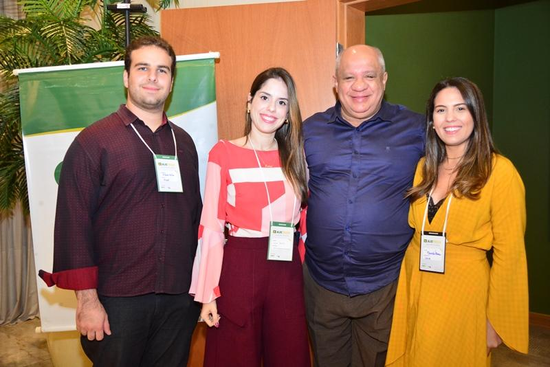 Paulo Salin, Lidia Brito, Pedro Alfredo e Marcela Abreu