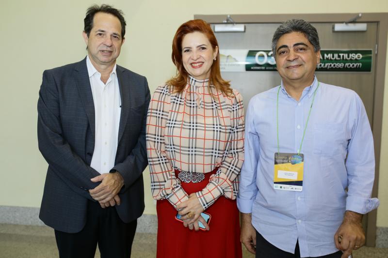 João Hilton,Enid Camara e Ilario Marques