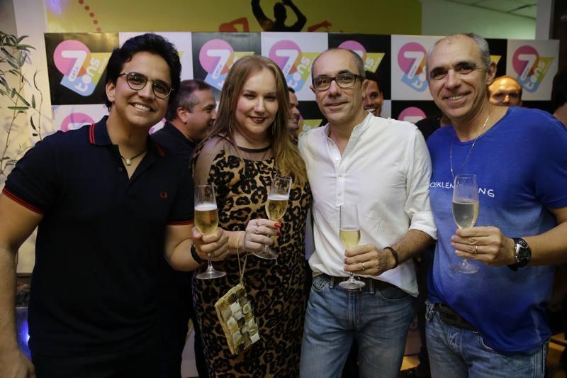 Panta Neto, Luiziane Cavalcante, Betinho e Douglas Santos