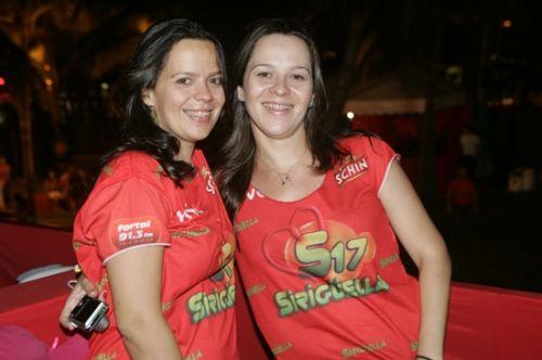 Larissa Carvalho e Eneida Farias