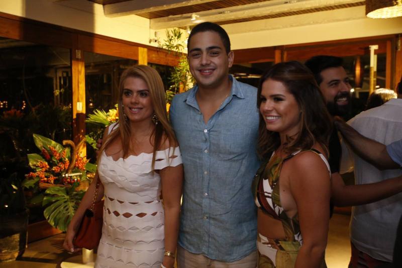 Leticia Studart, Rafael Pinto e Leticia Studart