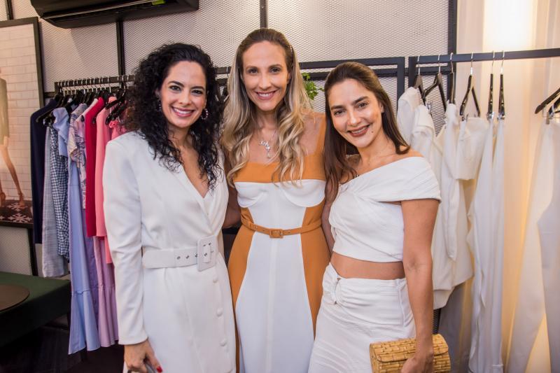 Luciana Fiuza, Amanda Medrado e Lara Romcy