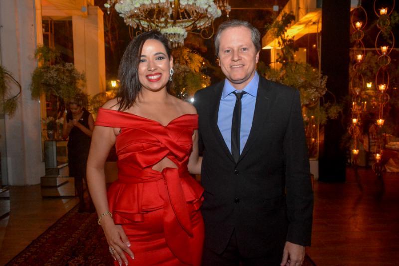 Ana Paula e Luiz Ricardo Martan