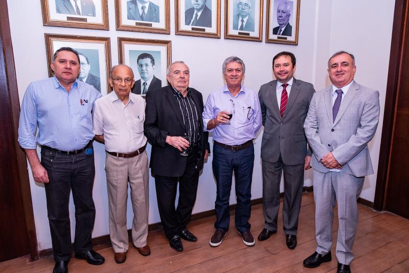 Expedido Junior, Ageu Monteiro, Julio Santiago, Cloves Nogueira, Ivanildo Franca e Roberio Carvalho