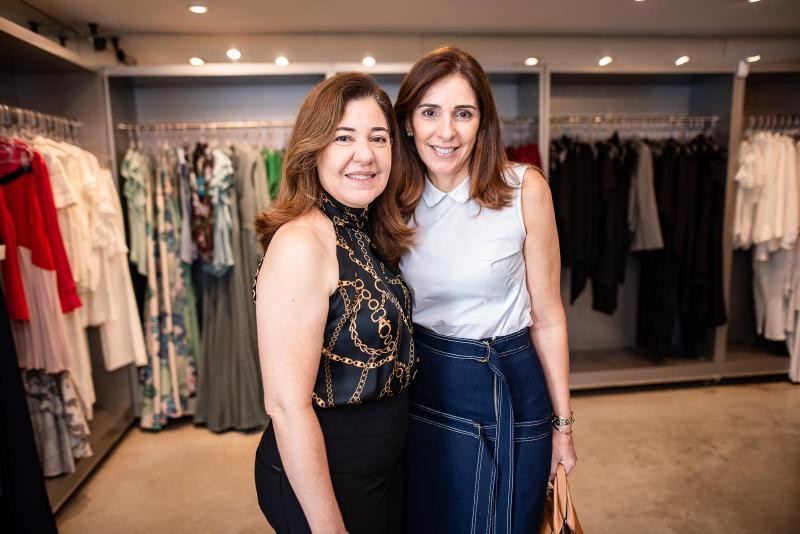 Denise Moraes e Cristiana Ysleiman