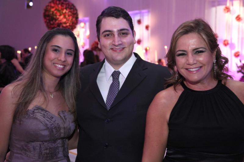 Tatiana Frota, Thiago e Ana Luisa Barreira