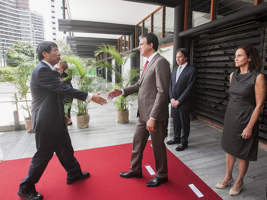 Camilo Santana busca investimentos japoneses