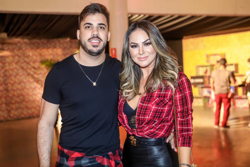 Anderson Vieira e Jamile Lima