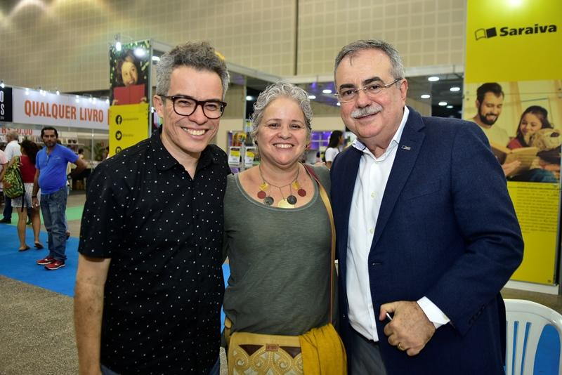 Fabiano Piuba, Raquel Gadelha, Assis Cavalcante