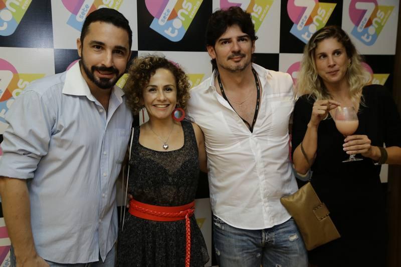 Rafael Lucena, Rogeria Amorim, Fabio Fernandes e July Oliveira