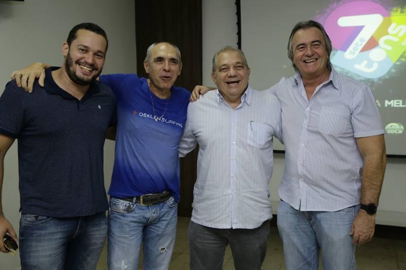 Filipe Celedonio, Douglas e Waldo Santos e Quintino Feitosa