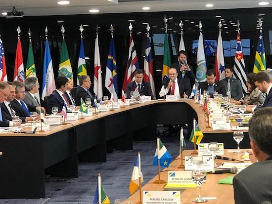 Camilo e governadores debatem a reforma tributária