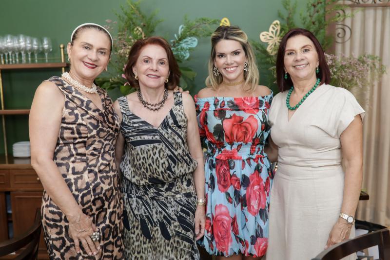 Alta Rosane, Ines Plutarco, Pauliane Campos e Roseane Campos