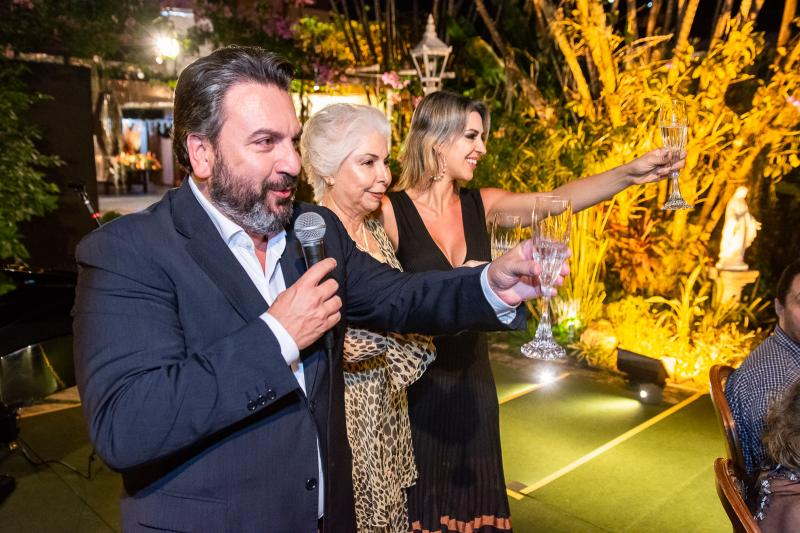 Mario Sergio Garcia, Alodia Guimaraes e Renata Garcia