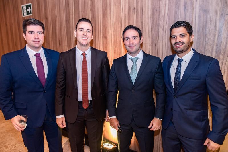 Flavio Figueiredo, Andre Fiuza, Thiago Asfor e bruno becco