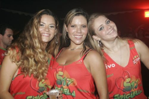 Cibelle Gadelha, Carla Brazao e Suyanne Lopes