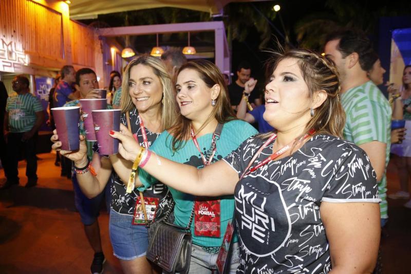 Celia Magalhaes, Ira Frota e Gisela Vieira